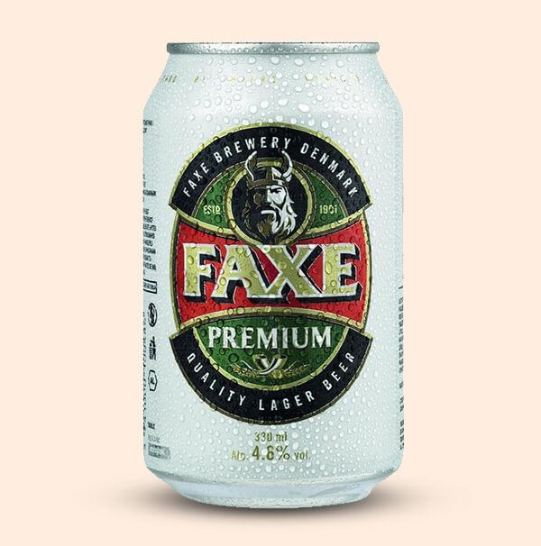 Faxe-bier-0,33l-blik-Goedkoop-deens-Bier