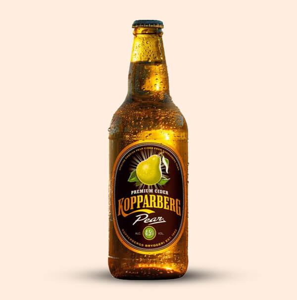 Kopparberg-Pear-zweedse-cider-0,5l-fles