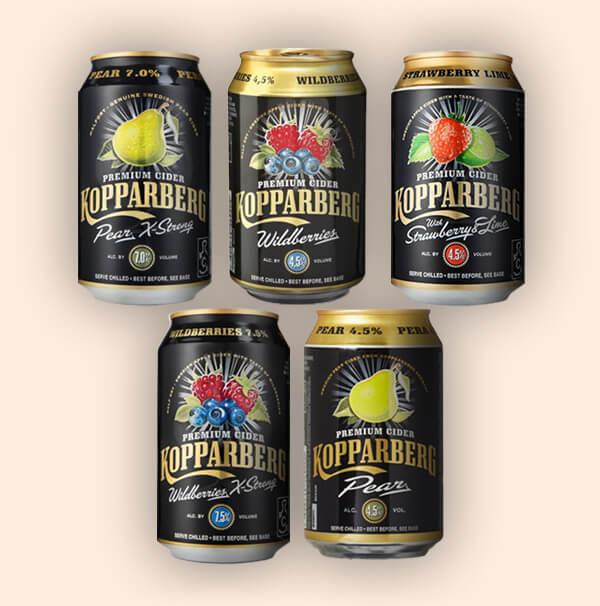 Proef-Pakket-Kopparberg-Zweedse-Ciders-0,33L-blikken
