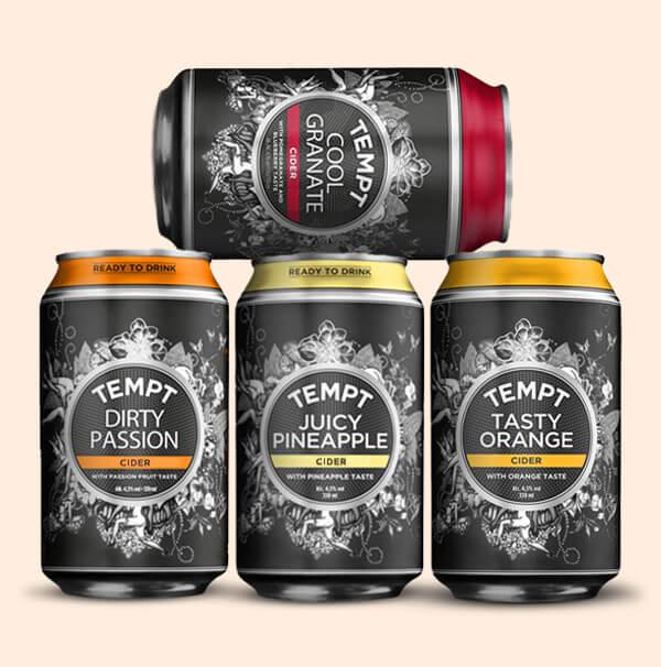 Proef-Pakket-Tempt-Deense-Ciders-0,33L-blikken