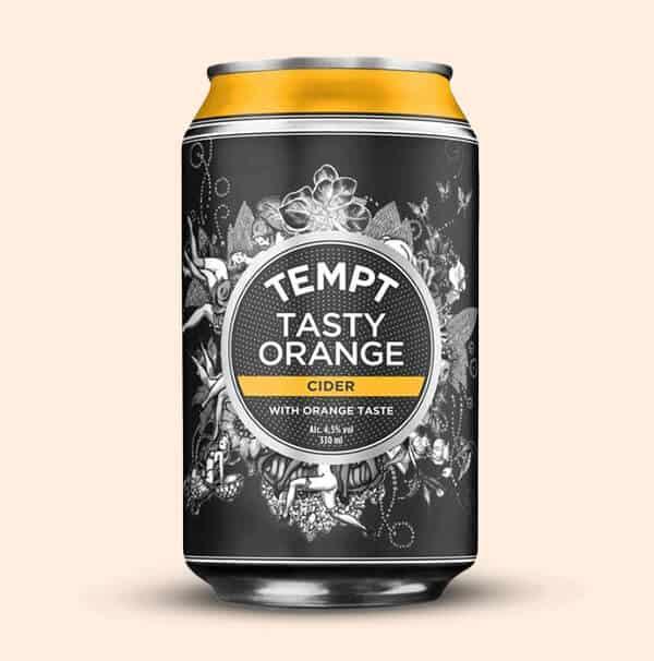 Tempt-Tasty-Orange-Cider-Deense-Cider-0,33L-blik