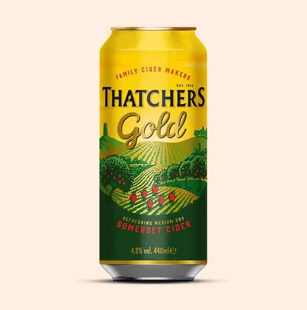 Thatchers-Gold-Cider-Engelse-cider-0,44L-blik